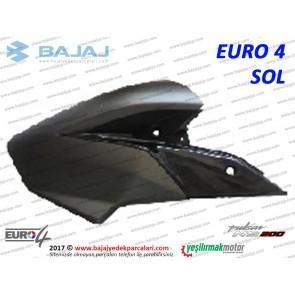 Bajaj Pulsar 200NS Yakıt, Benzin Depo Dekoratif Kapak Sol - EURO4 - SİYAH