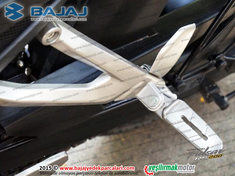 Bajaj Pulsar RS200 Arka Basamak Bağlantı Demiri, Sol