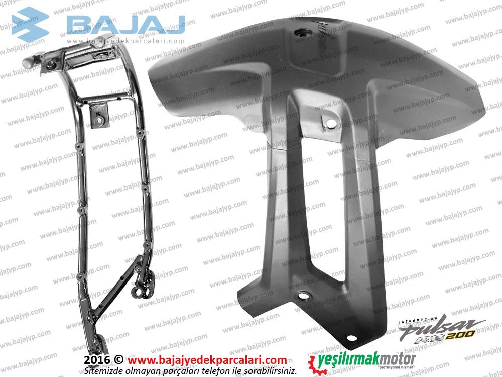 Bajaj Pulsar RS200 Arka Çamurluk ve Bağlantı Sacı Seti