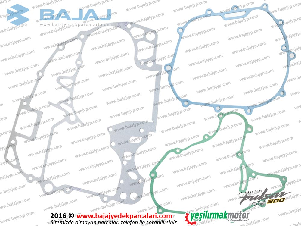 Bajaj Pulsar RS200 alt Conta Takımı YARIM