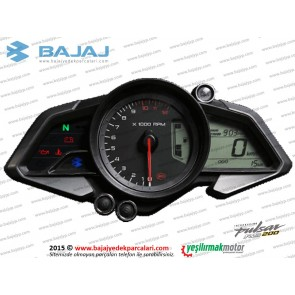 Bajaj Pulsar RS200 Gösterge, KM (Kilometre) Saati Komple