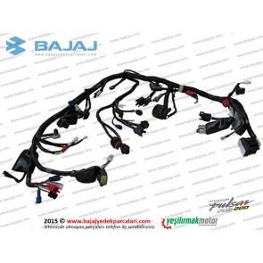 Bajaj Pulsar RS200 Kablo Takımı, Elektrik Tesisatı