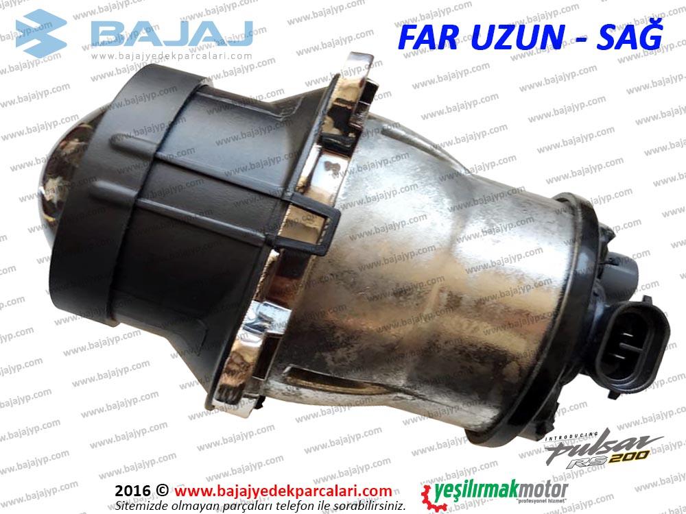 Bajaj Pulsar RS200 Ön Far Lambası - SAĞ - UZUN TARAF