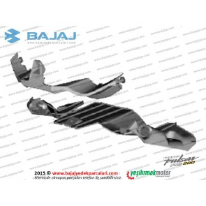 Bajaj Pulsar RS200 Ön Far Muhafaza Plastiği Alt-Üst Takım