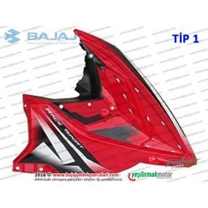 Bajaj Pulsar RS200 Ön Yan Panel, Sağ - TİP 1 - KIRMIZI - ETİKETSİZDİR