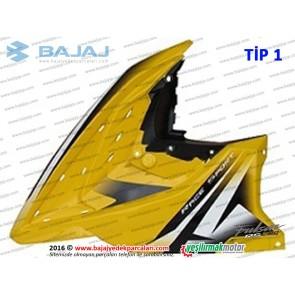 Bajaj Pulsar RS200 Ön Yan Panel, Sol - TİP 1 - SARI