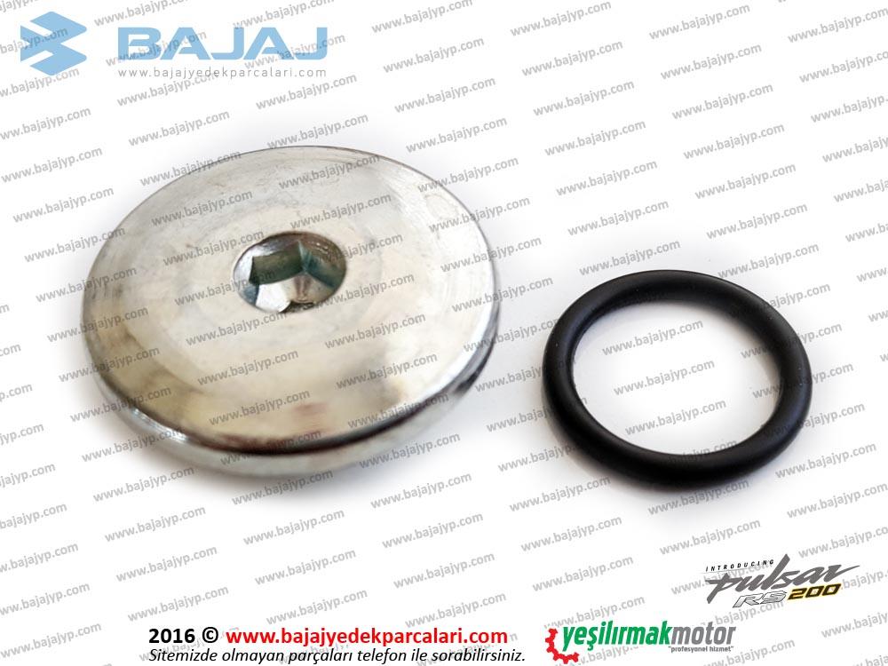 Bajaj Pulsar RS200 Şanzıman Sol Kapak Tapası ve Oringi