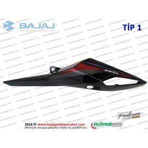 Bajaj Pulsar RS200 Sele Altı Panel, Sol - TİP 1 - SİYAH