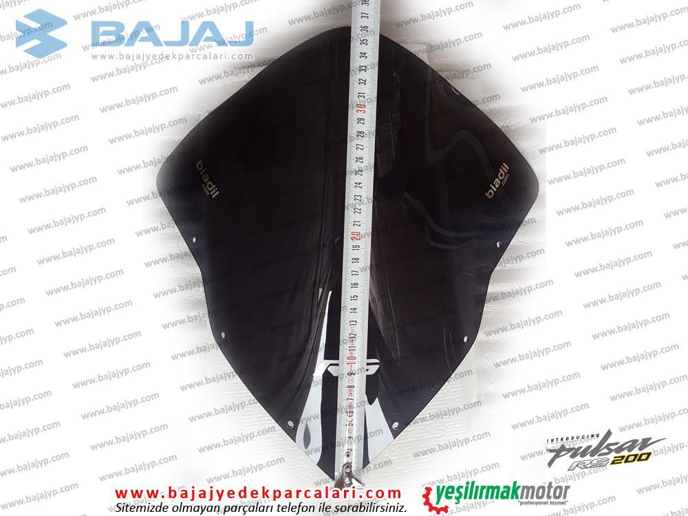 Bajaj Pulsar RS200 Siperlik Camı, UZUN TİP, TUR CAMI