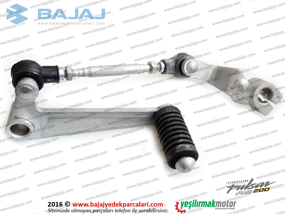 Bajaj Pulsar RS200 Vites Pedalı Komple