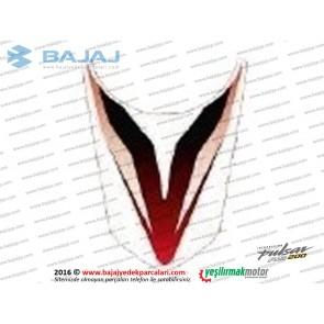 Bajaj Pulsar RS200 Yakıt Depo Etiketi
