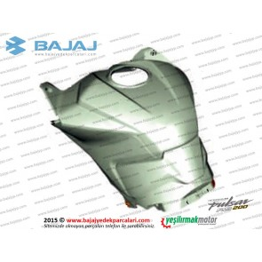Bajaj Pulsar RS200 Yakıt Deposu, Benzin Tankı Muhafaza Plastiği, Üst