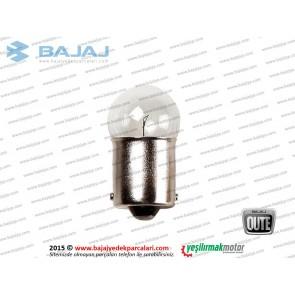 Bajaj Qute Stop Ampülü 12V 10W-R10W